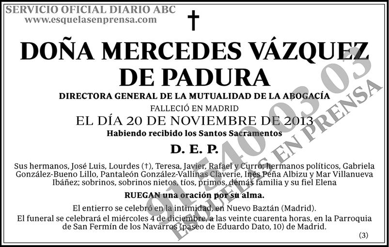 Mercedes Vázquez de Padura